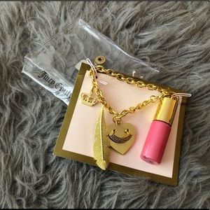 Juicy Couture Mini Lip Gloss Bracelet